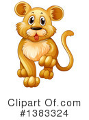 Royalty-Free (RF) Lion Clipart Illustration #1383324