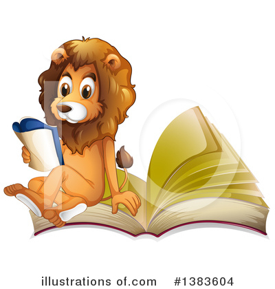 Lion Clipart #1383604 by Graphics RF