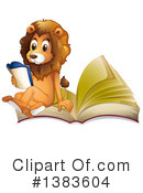 Royalty-Free (RF) Lion Clipart Illustration #1383604