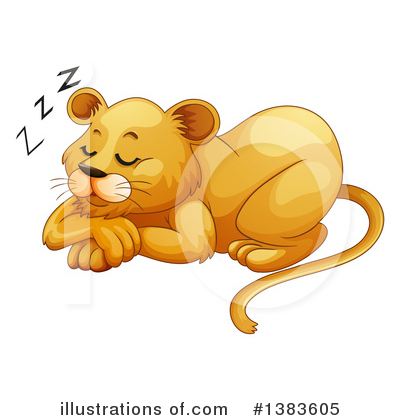 Lion Clipart #1383605 by Graphics RF