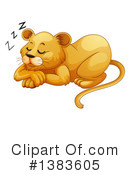 Royalty-Free (RF) Lion Clipart Illustration #1383605