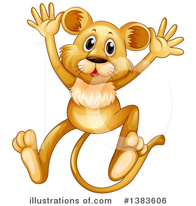 Lion Clipart #1383606 by Graphics RF