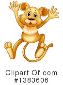 Royalty-Free (RF) Lion Clipart Illustration #1383606