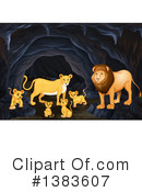 Lion Clipart #1383607 by Graphics RF