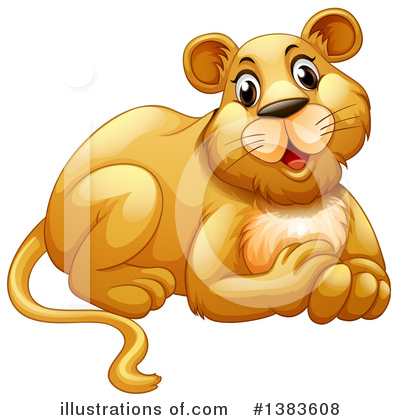 Lion Clipart #1383608 by Graphics RF
