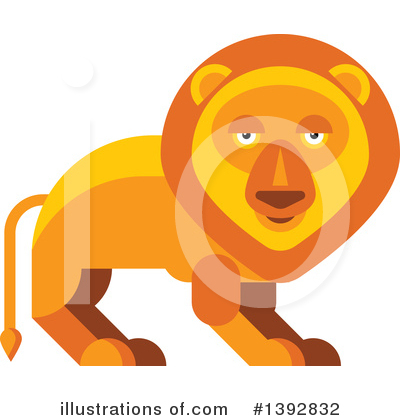 Lion Clipart #1392832 by Vector Tradition SM