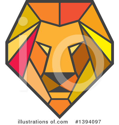 Lion Clipart #1394097 by patrimonio