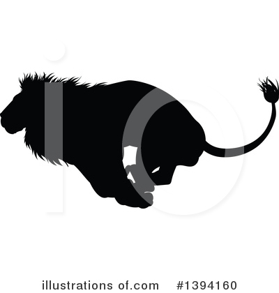 Lion Clipart #1394160 by AtStockIllustration