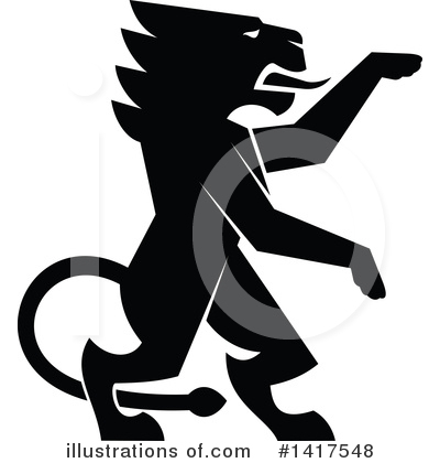 Lion Clipart #1417548 by Vector Tradition SM