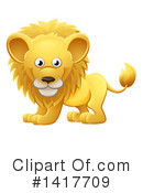 Lion Clipart #1417709 by AtStockIllustration