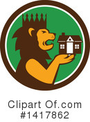 Lion Clipart #1417862 by patrimonio
