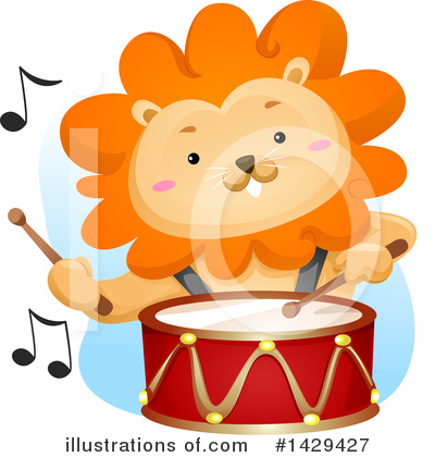 Lion Clipart #1429427 by BNP Design Studio