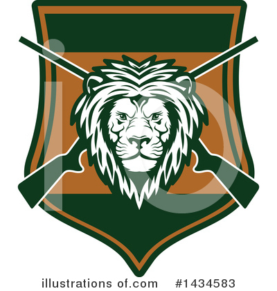 Lion Clipart #1434583 by Vector Tradition SM