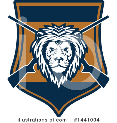 Lion Clipart #1441004 by Vector Tradition SM