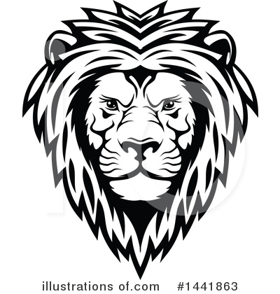 Lion Clipart #1441863 by Vector Tradition SM