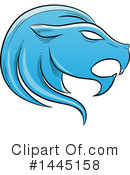 Royalty-Free (RF) Lion Clipart Illustration #1445158