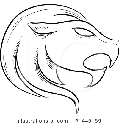 Lion Clipart #1445159 by cidepix