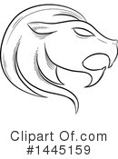 Royalty-Free (RF) Lion Clipart Illustration #1445159