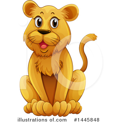 Lion Clipart #1445848 by Graphics RF