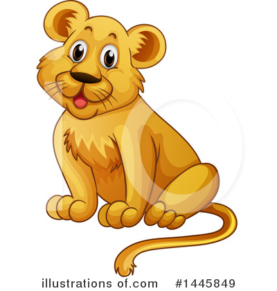 Lion Clipart #1445849 by Graphics RF