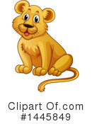 Royalty-Free (RF) Lion Clipart Illustration #1445849