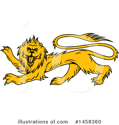 Lion Clipart #1458360 by Vector Tradition SM