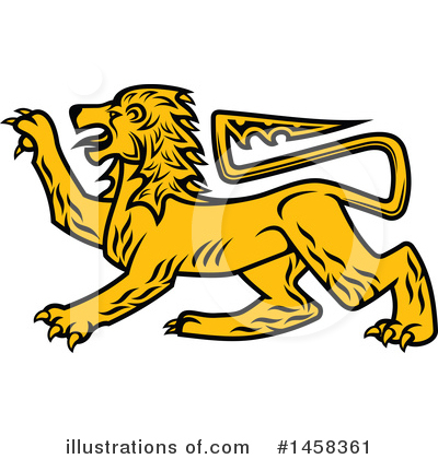 Lion Clipart #1458361 by Vector Tradition SM