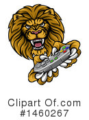 Lion Clipart #1460267 by AtStockIllustration