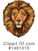 Lion Clipart #1461010 by Vector Tradition SM