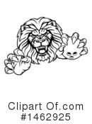 Lion Clipart #1462925 by AtStockIllustration