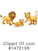 Lion Clipart #1472198 by Graphics RF