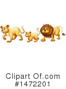 Lion Clipart #1472201 by Graphics RF