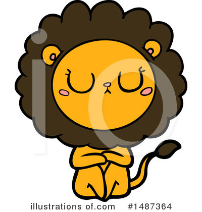 Lion Clipart #1487364 by lineartestpilot