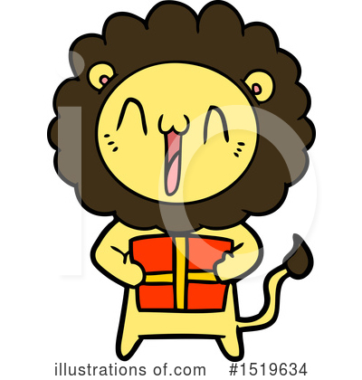 Lion Clipart #1519634 by lineartestpilot