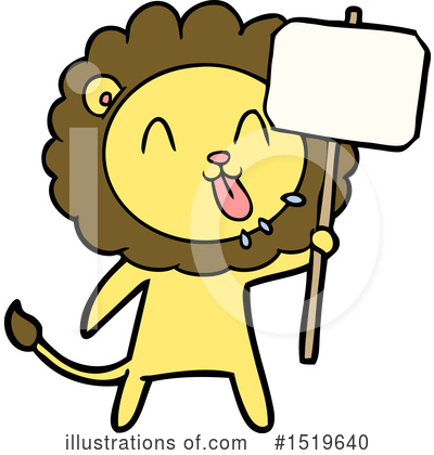 Lion Clipart #1519640 by lineartestpilot