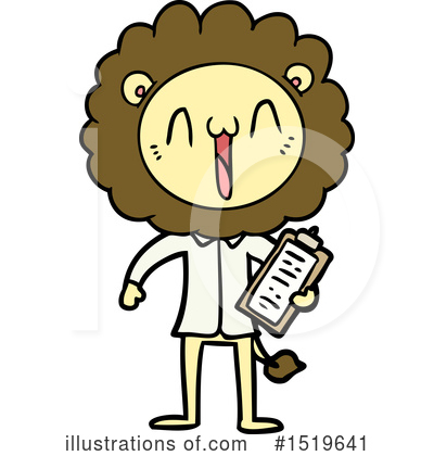 Lion Clipart #1519641 by lineartestpilot