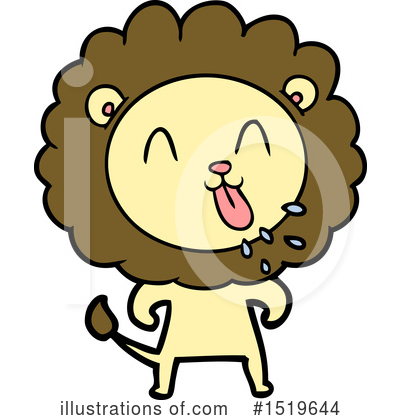 Lion Clipart #1519644 by lineartestpilot