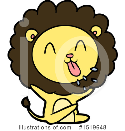 Lion Clipart #1519648 by lineartestpilot