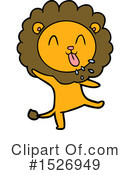 Lion Clipart #1526949 by lineartestpilot