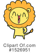 Lion Clipart #1526951 by lineartestpilot