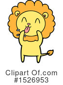 Lion Clipart #1526953 by lineartestpilot