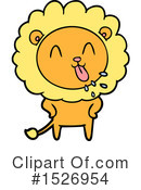 Lion Clipart #1526954 by lineartestpilot