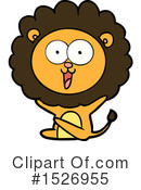 Lion Clipart #1526955 by lineartestpilot