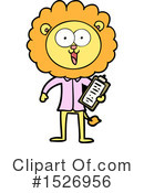 Lion Clipart #1526956 by lineartestpilot