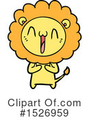 Lion Clipart #1526959 by lineartestpilot