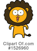 Lion Clipart #1526960 by lineartestpilot