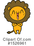 Lion Clipart #1526961 by lineartestpilot