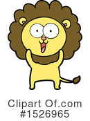 Lion Clipart #1526965 by lineartestpilot