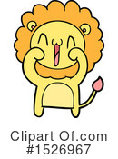Lion Clipart #1526967 by lineartestpilot