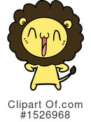 Lion Clipart #1526968 by lineartestpilot